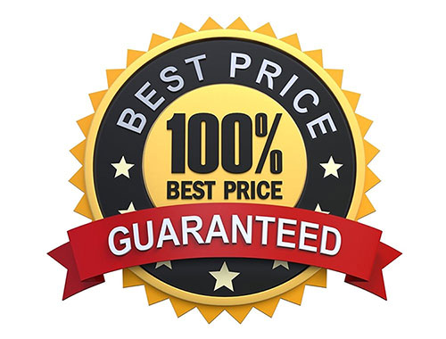 100% BEST PRICE GUARANTEED